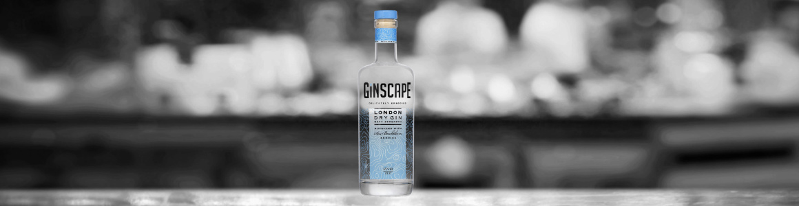 Ginscape Navy Strength at bar