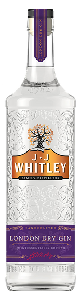 JJ Whitley London Dry Gin 40%